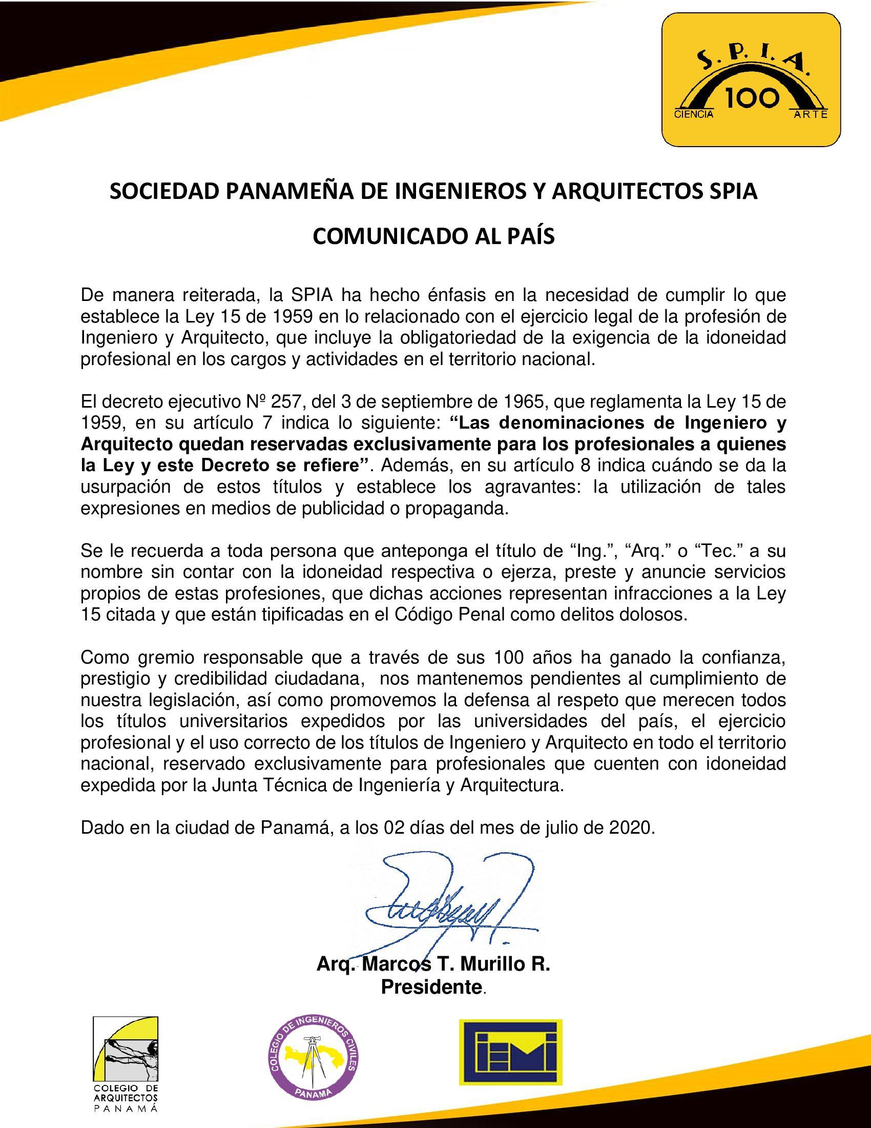 COMUNICADO-AL-PAIS-02-DE-JULIO-DP Firmado